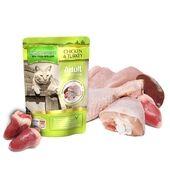 Natures Menu Chicken & Turkey Cat Food Pouch