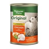 Natures Menu Chicken Adult Wet Dog Food Can