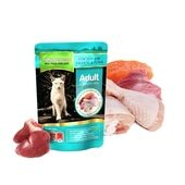 Natures Menu Chicken, Salmon & Tuna Cat Pouch