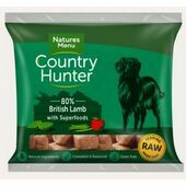 Country Hunter British Lamb Raw Nuggets Dog Food