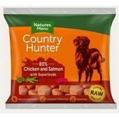 Country Hunter Chicken & Salmon Raw Nuggets for Dogs