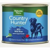 Country Hunter Wild Boar Wet Dog Food Can