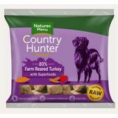 Country Hunter Farm Reared Turkey Raw Nuggets for Dogs