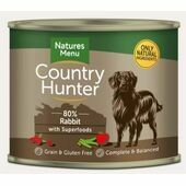 Country Hunter Full Flavoured Rabbit Wet Dog Food Can
