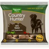 Country Hunter Full Flavoured Rabbit Raw Nuggets Dog Food