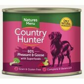 Country Hunter Pheasant & Goose Wet Dog Food Can