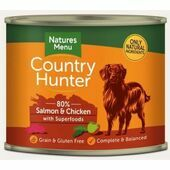 Country Hunter Salmon & Chicken Wet Dog Food Can