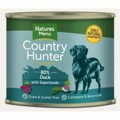 Country Hunter Succulent Duck Wet Dog Food Can