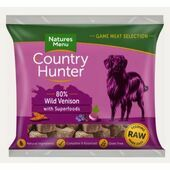 Country Hunter Wild Venison Raw Nuggets for Dogs