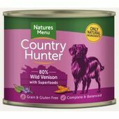 Country Hunter Wild Venison Wet Dog Food Can