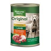 Natures Menu Lamb & Chicken Wet Adult Dog Food Can