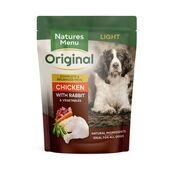 Natures Menu Light Chicken & Rabbit Wet Dog Food