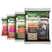 Natures Menu Original Raw Dog Food Meals Multipack