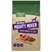 Natures Menu Turkey & Oats Mighty Mixer Biscuits for Dogs