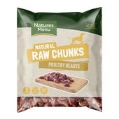 Natures Menu Raw Poultry Hearts for Dogs