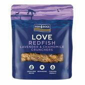 Fish4Dogs Redfish & Lavender Crunchers  Dog Treats
