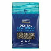 Fish4Dogs Sea Jerky Tiddlers Dog Treats
