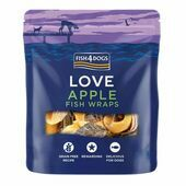 Fish4Dogs Sea Wraps Sweet Ocean Apple Dog Treats