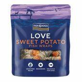 Fish4Dogs Sea Wraps Sweet Potato Dog Treats