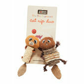 Danish Design Chip and Chap Catnip Duo Plush Cat Toys - 5