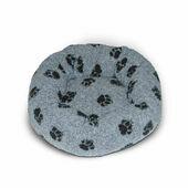Danish Design Fleece Grey Cushion Dog Bed