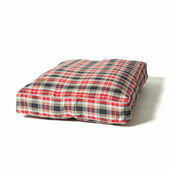 Danish Design Lumberjack Red/Grey Box Dog Duvet Cover