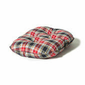 Danish Design Lumberjack Red/Grey Quilted Dog Mattress