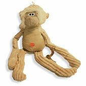 Danish Design Melvin the Monkey Plush Dog Toy - 15\