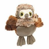 Danish Design Olga the Owl Plush Dog Toy - 11