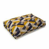 Danish Design Retreat Eco-Wellness Geometric Memory Foam Dog Bed