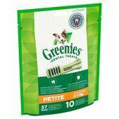 Greenies Grain Free Petite Dog Dental Treats 170g