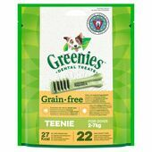 Greenies Grain Free Teenie Dog Dental Treats 170g