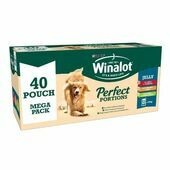 40 x Winalot Perfect Portions Adult Dog Food Beef, Chicken & Lamb In Jelly 100g