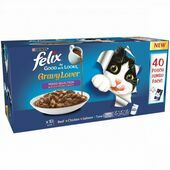 40 x 100g Felix As Good As It Looks Gravy Lover Mixed Selection