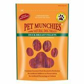 Pet Munchies Natural Dog Treat Duck Breast Fillets