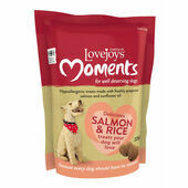 Lovejoys Moments Salmon & Rice Dog Treats
