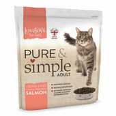 Lovejoys Pure & Simple Adult Salmon Dry Cat Food