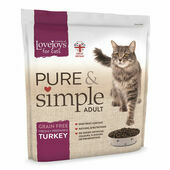 Lovejoys Pure & Simple Adult Turkey Dry Cat Food