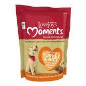 Lovejoys Moments Turkey & Rice Dog Treats