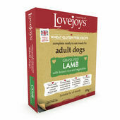 Lovejoys Adult Lamb with Rice & Vegetables Wet Dog Food SHORT DATED