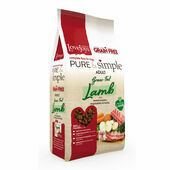 Pure & Simple Adult Grain Free Grass-Fed Lamb Dry Dog Food