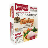 Lovejoys Pure & Simple Adult Grain Free Turkey Wet Dog Food