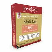 Lovejoys Adult Salmon & White Fish with Rice & Veg Wet Dog Food