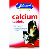 Johnson's Calcium & Vitamin D Tablets - 40 Tablets