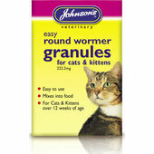 Johnson\'s Easy Round Wormer Granules for Cats & Kittens