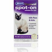 Johnson's Fipronil Cat Flea & Tick Spot-On