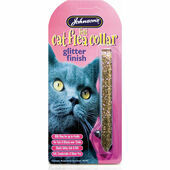 Johnson\'s Felt Glitter Cat Flea Collar