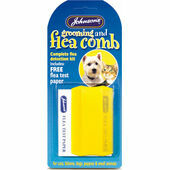 Johnson\'s Flea & Grooming Comb + Flea Detection Kit