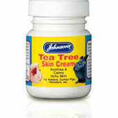 Johnson's Tea Tree Skin Cream For Small Animals 50g