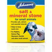 Johnson's Salt & Mineral Stone (for small animals) 120g (salt, calcium & minerals)